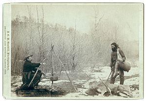";Original title: ""Hunting Deer."" A d..."