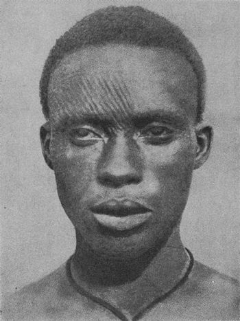 English: A picture of an Igbo man with facial ...