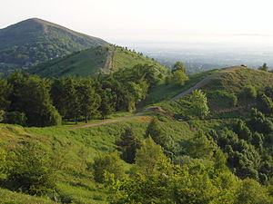 English: Malvern Hills in June 2005