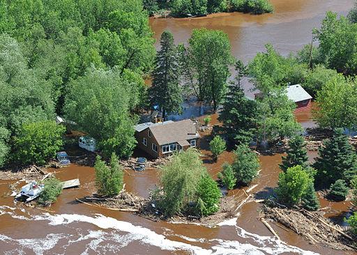 Over Flight of Duluth Flood 120624-G-HE371-003