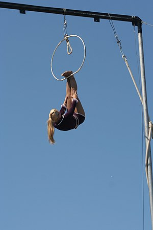 """Pirates of the Sky"" aerialists act,..."