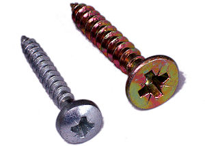Pozidriv-head screw