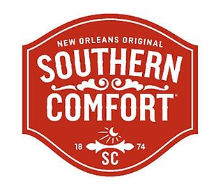 English: Red Southern Comfort logo
