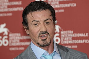 Sylvester Stallone at the 2009 Venice Film Fes...