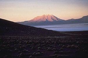 Ubinas volcano, Peru
