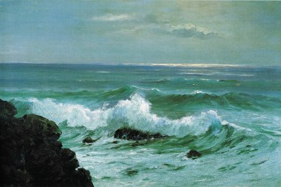 File:'Seascape Waves' by D. Howard Hitchcock, 1911.jpg ...