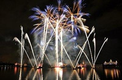 Epcot Illuminations Walt Disney World Orlando 2010
