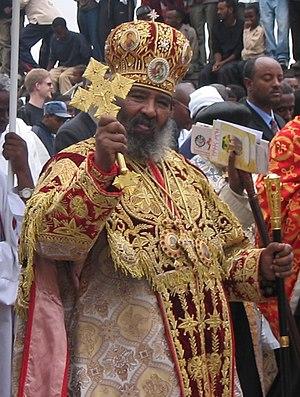 Abuna Paulos at the Timqet Celebration January...
