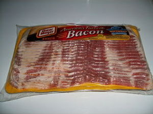 English: Bacon
