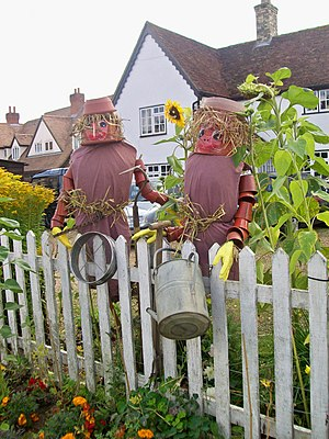 English: Scarecrow No.5, Bill and Ben the Flow...