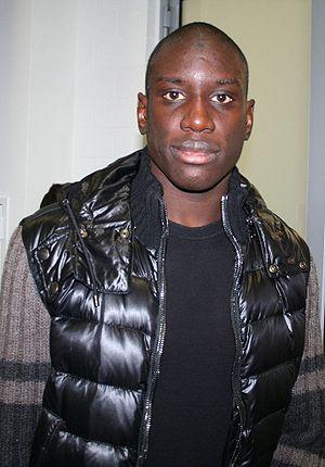 Deutsch: Fußballer Demba Ba nach dem Spiel TSG...