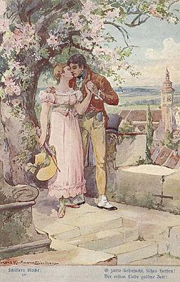Der ersten Liebe goldne Zeit