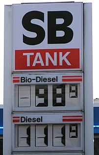In some countries biodiesel is less expensive ...