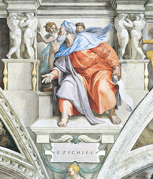 File:Ezekiel by Michelangelo, restored - large.jpg