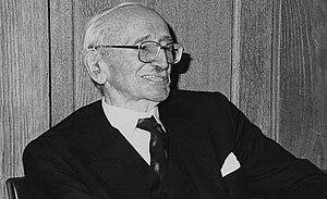 Professor of Economic Science at LSE 1931-1950...