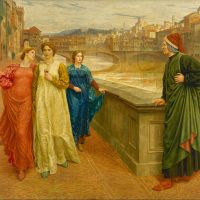 """Dante and Beatrice"" by Henry Holiday"