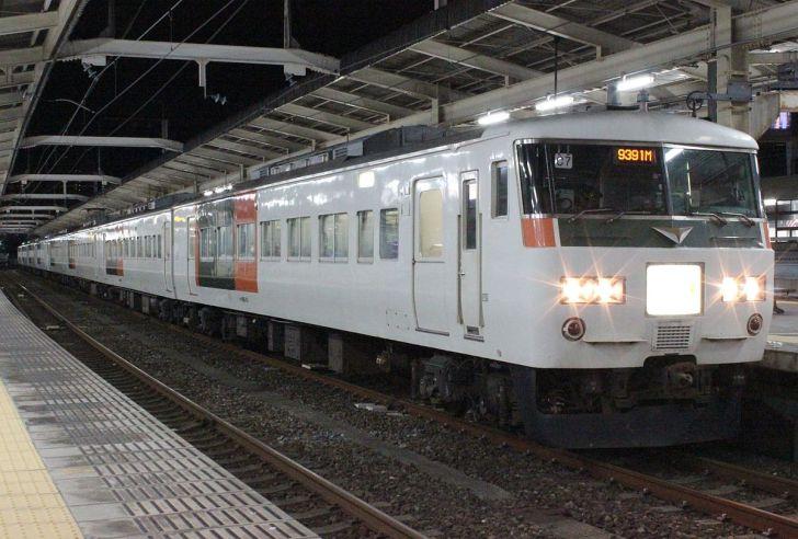 ムーンライトながらに使用されている185系電車
