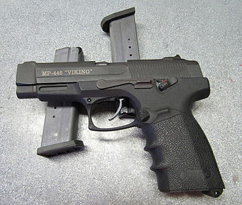 "English: MP-446 ""Viking"" 9mm Handgun"