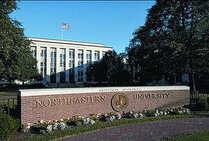 Northeastern University: Ell Hall (on Huntingt...