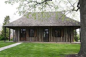 English: Old Cahokia Courthouse, Cahokia, Illinois