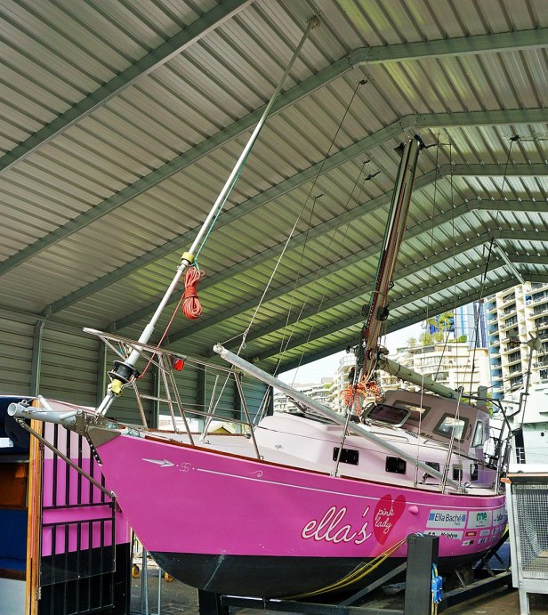 Queensland Maritime Museum - Joy of Museums - Ella's Pink Lady