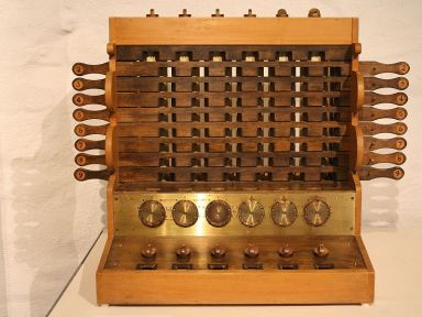 Replica Schickard Calculating Clock