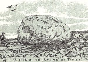 English: The Ringing stone of Tiree