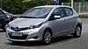 Toyota Yaris (XP130) – Frontansicht, 21. Juli 2012, Heiligenhaus.jpg