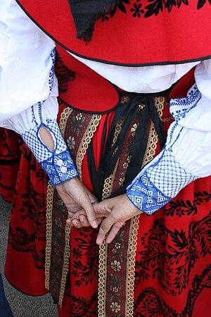 Español: Detalle del bordado de la camisa de u...