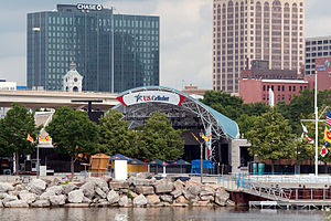English: THe U.S. Cellular stage on the Henry ...