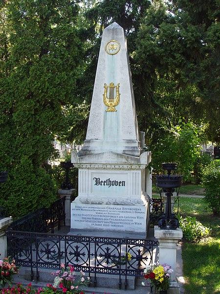 File:Zentralfriedhof Vienna - Beethoven.JPG