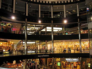 Inside Mall of America at Bloomington, Minneso...