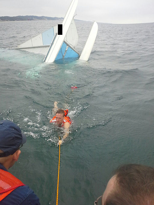 Coast Guard rescues 4 from Lake Michigan 140620-G-ZZ999-001