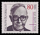Karl Barth, Briefmarke der Bundespost von 1986