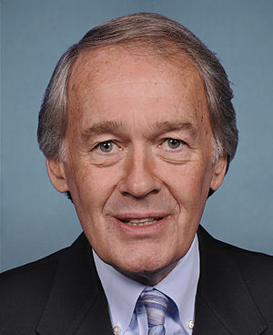 English: Portrait of US Rep Ed Markey