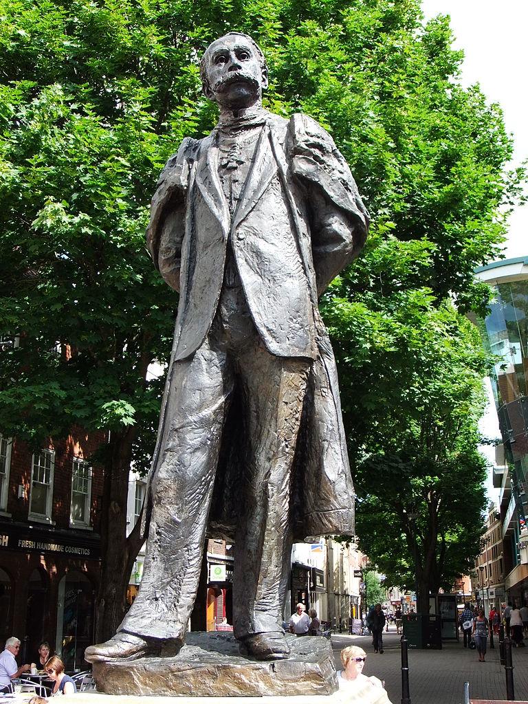 File Edward Elgar Statue Worcester England Dscf0692