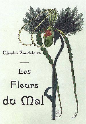 Illustration de Baudelaires «Les Fleurs du Mal...