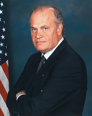 Fred Thompson, former U.S. Senator, actor, and...