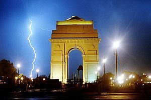 English: Edited version of File:Indiagatelight...