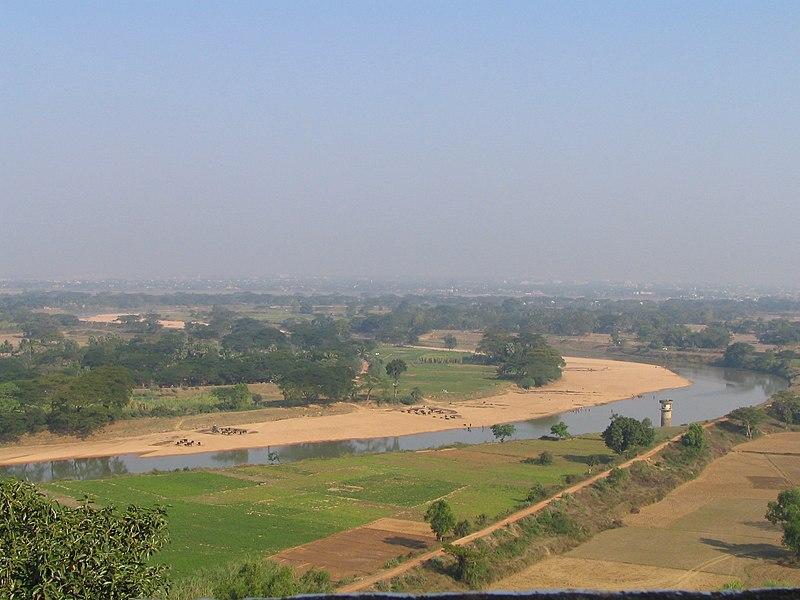 File:Kalinga battlefield daya river dhauli hills.jpg