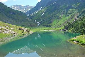 Lake Gleno, Lombardy, Italy