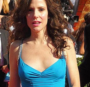 English: Actress Mary-Louise Parker at 2008 Em...