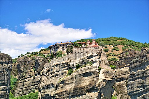 Monastery of Great Meteoron at Meteora