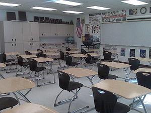 Social Studies classroom at Port Charlotte Hig...