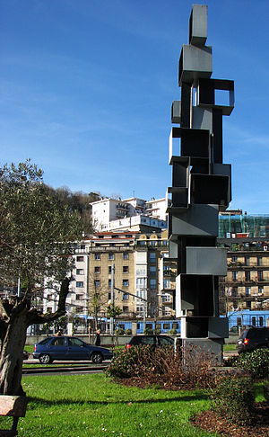 Public art in San Sebastian, Spain