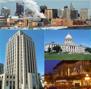 Saint Paul, Minnesota collage.