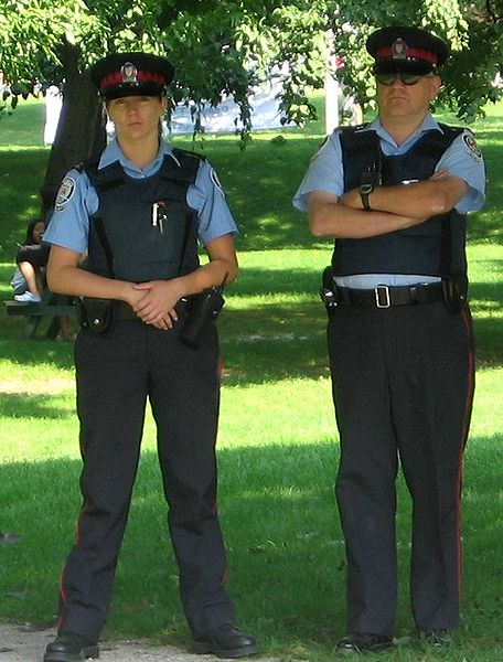 Toronto Police Officers - Photo courtesy Joshua Sherurcij
