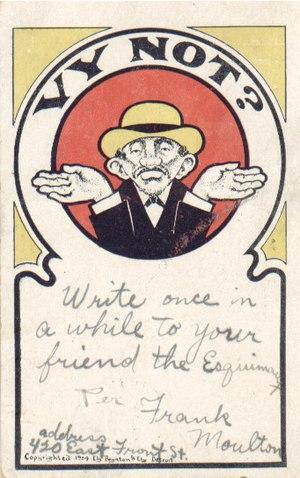 "English: ""Anti-Semitic Jewish Postcard"""