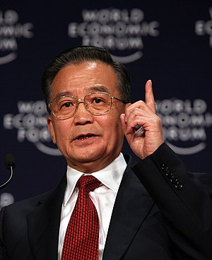 Wen Jiabao, Premier of the People's Republic o...