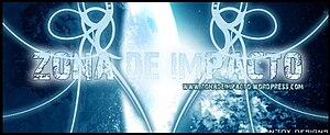 English: zona de impacto logos